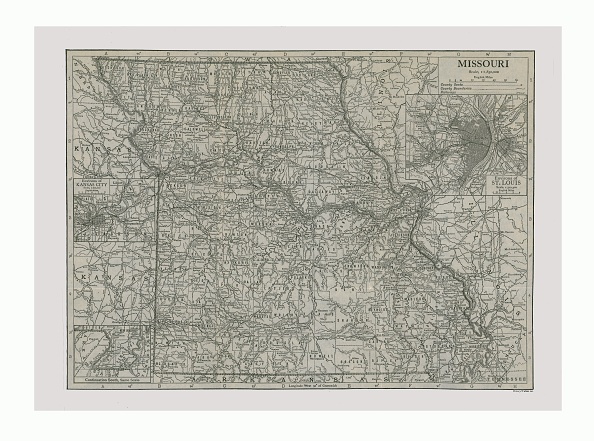 Full Frame「Map Of Missouri」:写真・画像(5)[壁紙.com]