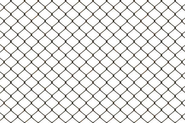 Rusty fence:スマホ壁紙(壁紙.com)