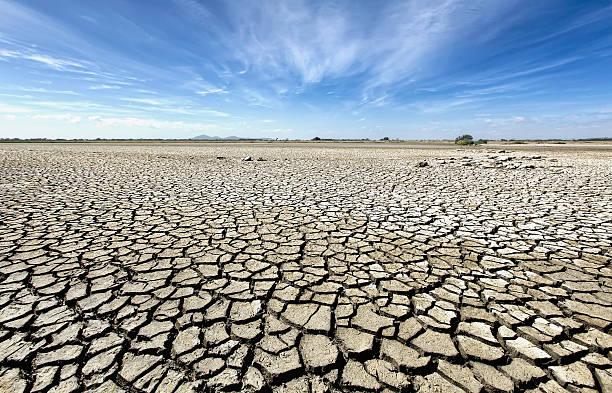 Australia, Victoria, Barren plain with parched soil:スマホ壁紙(壁紙.com)