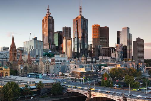 Melbourne - Australia「Australia, Victoria, Melbourne, Exterior」:スマホ壁紙(13)
