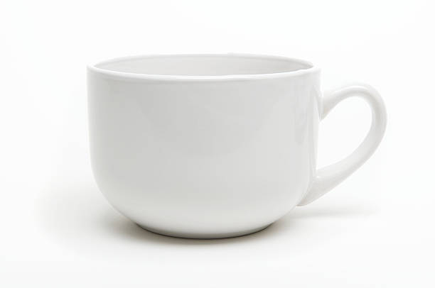 Coffee Mug with Shadow White Background:スマホ壁紙(壁紙.com)