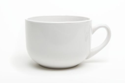 Side View「Coffee Mug with Shadow White Background」:スマホ壁紙(2)