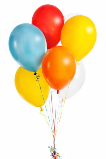 Balloon「Group of colorful balloons」:スマホ壁紙(18)