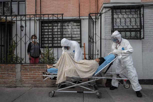 Paramedics Respond To Emergency Calls In Mexico City and  Metropolitan Area Amid Coronavirus Pandemic:ニュース(壁紙.com)