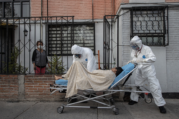 Mexico「Paramedics Respond To Emergency Calls In Mexico City and  Metropolitan Area Amid Coronavirus Pandemic」:写真・画像(5)[壁紙.com]