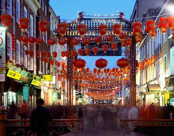 Chinese Lantern「Chinatown, c1990-2010」:写真・画像(19)[壁紙.com]