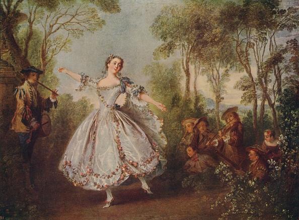 Classical Style「Mlle Camargo Dancing」:写真・画像(1)[壁紙.com]