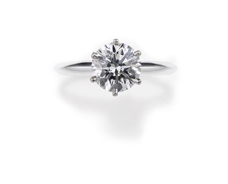 Love - Emotion「Round Cut Diamond Engagement Ring」:スマホ壁紙(14)