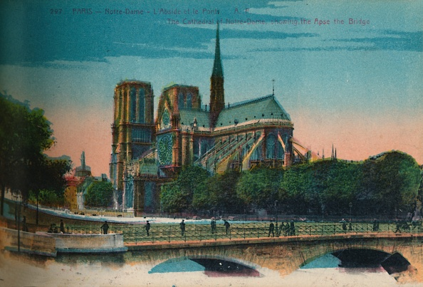 Tourism「Notre-Dame Cathedral Showing The Apse And The Pont Notre-Dame」:写真・画像(11)[壁紙.com]