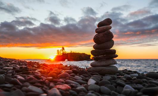 Hiking「Hollow Rock, Lake Superior, Grand Portage, Minnesota, USA」:スマホ壁紙(6)