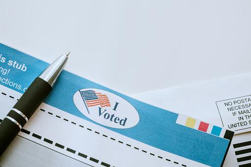 Voting Ballot「Absentee Mail-In Voting Ballot Detail」:スマホ壁紙(16)