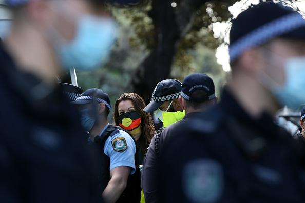 Lisa Maree Williams「Black Lives Matter Activists Attend Unauthorised Rally In Sydney」:写真・画像(14)[壁紙.com]