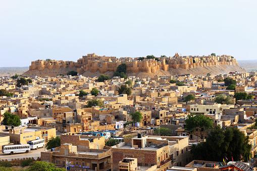 Rajasthan「Jaisalmer town and fort」:スマホ壁紙(3)