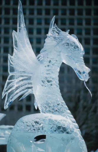 Ice Sculpture「Dragon ice sculpture」:スマホ壁紙(5)