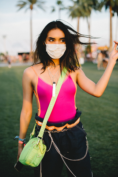 Mask - Disguise「Street Style At The 2019 Coachella Valley Music And Arts Festival - Weekend 1」:写真・画像(0)[壁紙.com]