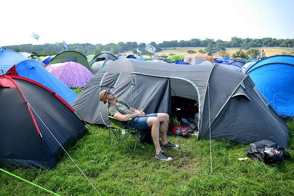 Camping Chair「Glastonbury Festival 2019 - Day Four」:写真・画像(6)[壁紙.com]