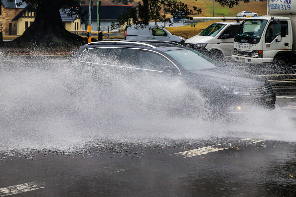 Torrential Rain「Rain Brings Wettest Day To Sydney In Months Following Drought And Bushfires」:写真・画像(4)[壁紙.com]