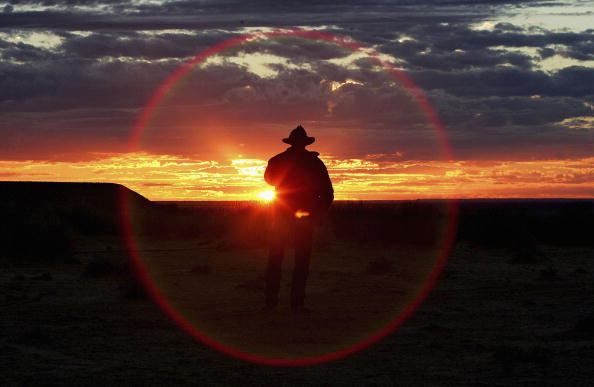 Silhouette「Great Australian Cattle Drive Nears Completion」:写真・画像(16)[壁紙.com]