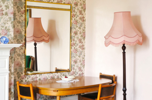 Floral Pattern「English living room」:スマホ壁紙(6)