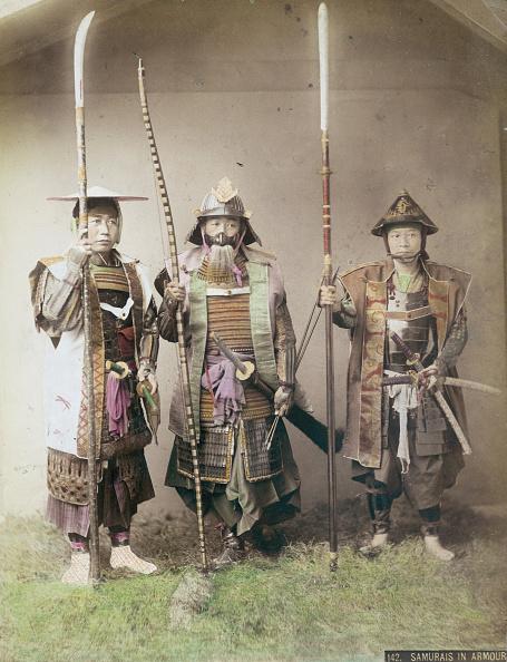 戦国武将「Three Samurai」:写真・画像(0)[壁紙.com]