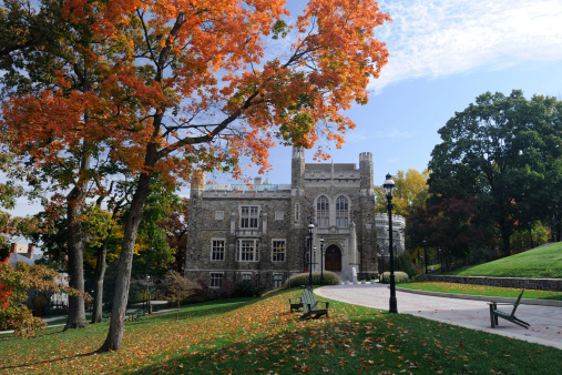 Pennsylvania「Lehigh University in Autumn」:スマホ壁紙(3)