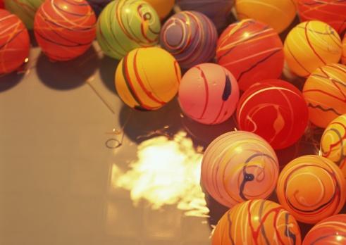 お祭り「Yo-Yo water balls」:スマホ壁紙(19)