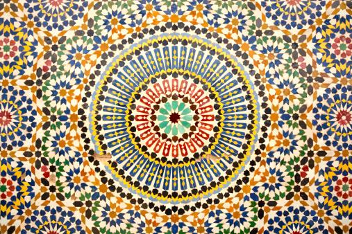 イスラム教「アラベスク」:スマホ壁紙(17)