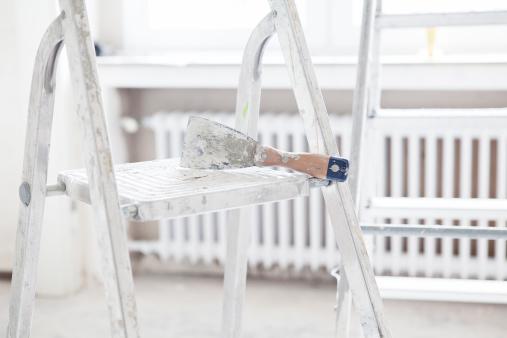 日曜大工「Scraper on step ladder」:スマホ壁紙(11)