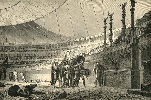Amphitheater「Gladiators Saluting The Emperor Before Joining Combat」:写真・画像(9)[壁紙.com]