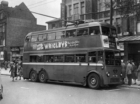 Bus「London Trolleybus」:写真・画像(14)[壁紙.com]