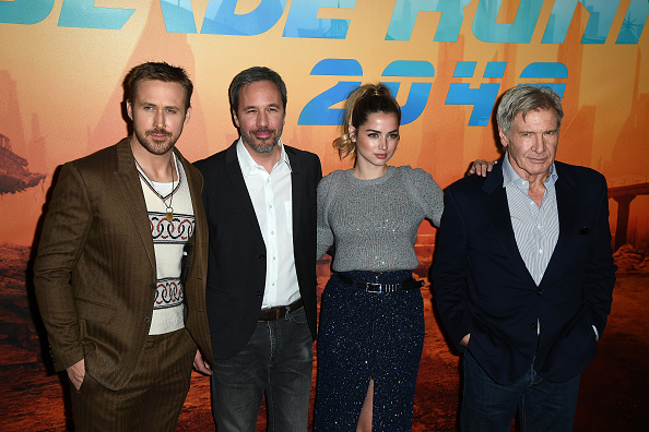 横位置「'Blade Runner 2049' Photocall At Le Broistol In Paris」:写真・画像(4)[壁紙.com]