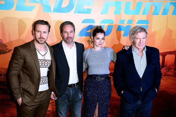 横位置「'Blade Runner 2049' Photocall At Le Broistol In Paris」:写真・画像(6)[壁紙.com]