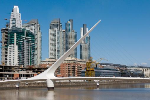 Buenos Aires「The Puente de la Mujer (Women's Bridge)」:スマホ壁紙(7)