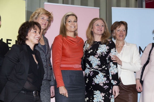 Dutch Royalty「Princess Maxima Of The Netherlands Attends The Women's Inc Conference」:写真・画像(19)[壁紙.com]