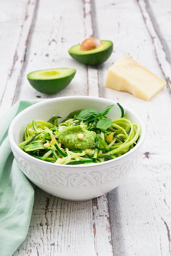 Pine Nut「Zoodels with avocado basil pesto」:スマホ壁紙(10)