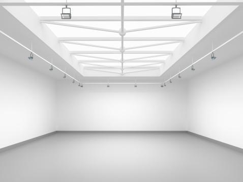 背景「3 d の空のギャラリー」:スマホ壁紙(4)