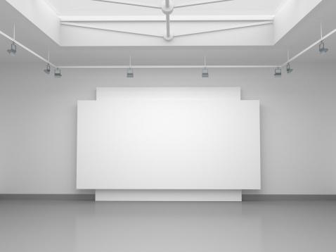 出来事「3 d の空のギャラリースペース」:スマホ壁紙(8)