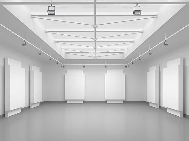 3 d の空のギャラリースペース:スマホ壁紙(壁紙.com)