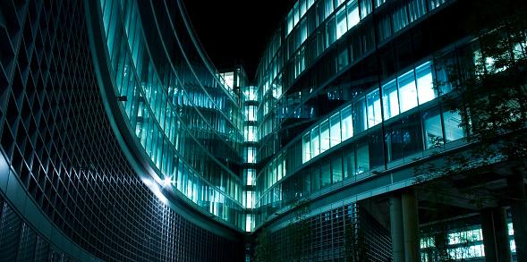 Postmodern「Contemporary achitecture facade」:スマホ壁紙(1)