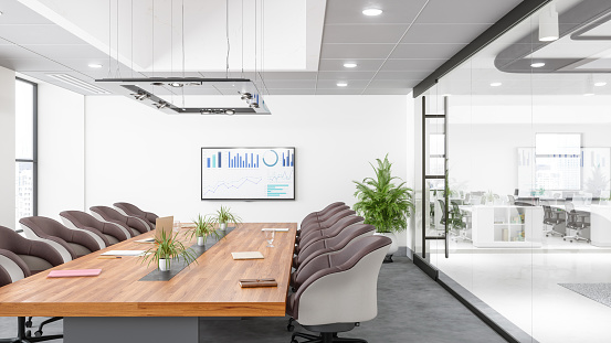 Finance and Economy「Contemporary Meeting Room」:スマホ壁紙(14)