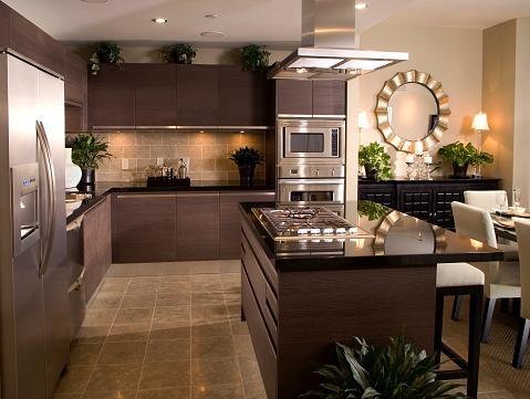 Granite - Rock「Contemporary Kitchen Interior」:スマホ壁紙(16)