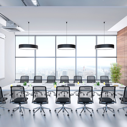 Wide Angle「Contemporary conference room interior」:スマホ壁紙(5)