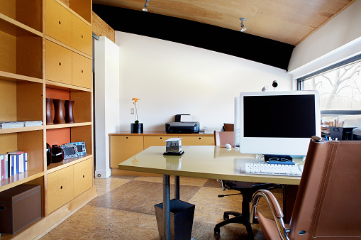 Home Office「Contemporary Home Office」:スマホ壁紙(6)