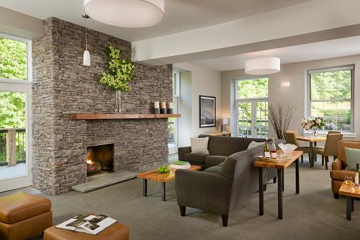 Pennsylvania「Contemporary Open Plan Living Room」:スマホ壁紙(4)
