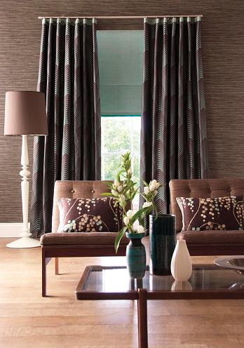 Floral Pattern「Contemporary living room」:スマホ壁紙(10)