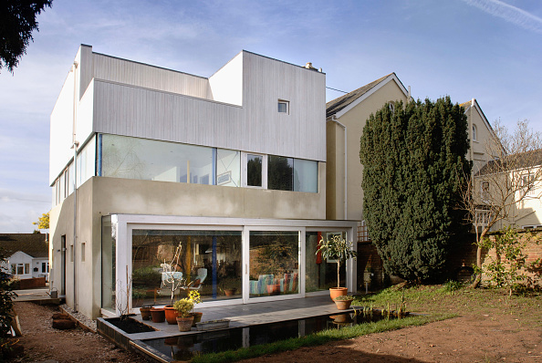 Modern「A contemporary geometric home in Exeter, UK」:写真・画像(7)[壁紙.com]