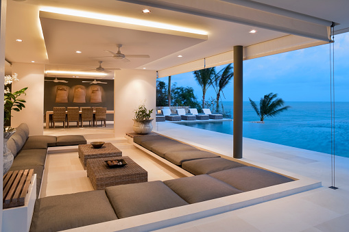 Infinity Pool「Contemporary Island Villa」:スマホ壁紙(2)