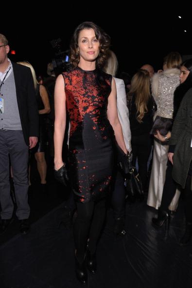Hosiery「Monique Lhuillier - Front Row - Fall 2013 Mercedes-Benz Fashion Week」:写真・画像(1)[壁紙.com]