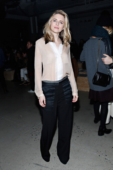 Brit Marling「Reed Krakoff - Front Row - Mercedes-Benz Fashion Week Fall 2014」:写真・画像(15)[壁紙.com]