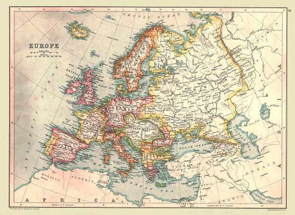 Europe「Map Of Europe」:写真・画像(0)[壁紙.com]